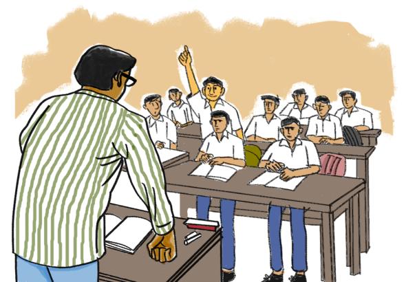 golpoBhuler Bhabisyat_ Illustration